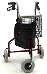 Karman Light Weight 3 Wheel, Loop Brakes, Comes With Pouch and Basket R-3600