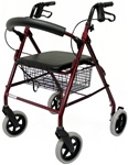 "Karman Rollator Lightweight with 8"" Wheels"
