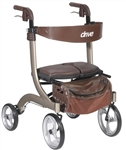 Drive Nitro DLX Rollator Side to Side Folding