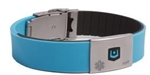 Stander MyID Medical ID Wristband with Negative-Ion Infused