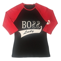 Boss Lady Baseball Shirt