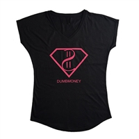 Ladies V-Neck Supermoney Tee