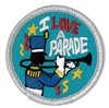 I Love A Parade (iron-on)
