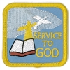 Service To God (iron-on)