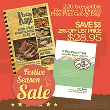 Cooking with Kaye Cookbook Bundle