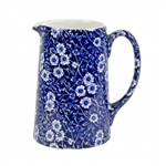 Blue Calico 1 Pint Tankard Jug