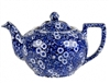 Blue Calico 4 Cup Teapot