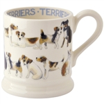 All Over Terrier 1/2 Pint Mug