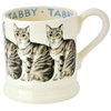 Tabby Cat 1/2 Pint Mug