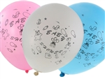 "12"" Globos para Baby Shower de  Latex (12)"
