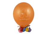 "12"" Globos para Happy Birthday de latex (Surtido Colores) (12)"