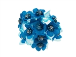 Flores de Satin con Diamantes (144)