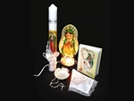 Set #3679 para Bautizo Virgen de Guadalupe Nightlight (1)