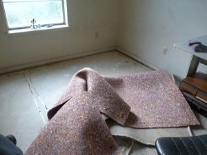 Carpet Removal, Disposal & Recycling