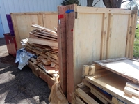 Pallet Removal, Crate Removal