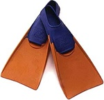 swim/dive swimming pool long training fins