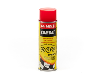 Combat Water Displacing Penetrating Oil 6 oz