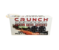 "Crunch CRS5.25CX 5.25"" 180W 2-Way Coaxial Car Speakers"