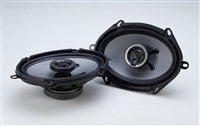 "Crunch CS5768CX 5x7"" 250 Watts Coaxial Car Speakers"