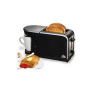 Elite Cuisine ECT-819 2-in-1 Dual Function Breakfast Station Toaster/Coffee