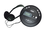 Naxa NPC-330 Slim Personal MP3/CD Player w/120 Second Anti-Shock/FM Scan Radio
