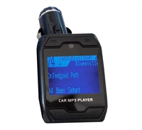 "IQ Sound IQ-202FT FM Transmitter with 1/4"" Display/USB/SD/AUX IN"