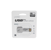 Unirex USFK-208 USB KEY 2.0 Flash Drive 8GB
