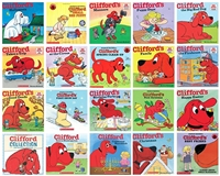 Five-Pack of  Clifford The Big Red Dog books ~ Norman Bridwell