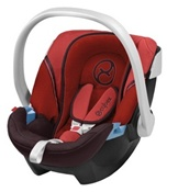 Cybex Aton Infant Car Seat in Lipstick