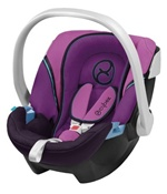 Cybex Aton Infant Car Seat in Purple Potion