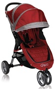 City Mini Single Stroller by Baby Jogger 2012 in Crimson Red