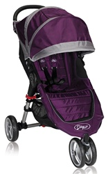 City Mini Single Stroller by Baby Jogger 2012 in Purple