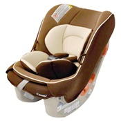 Combi Coccoro Convertible Car Seat in Chestnut