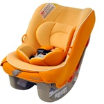 Combi Coccoro Convertible Car Seat in Carrot Cake
