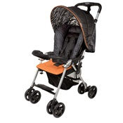 Combi Cosmo Stroller in Orange Zebra