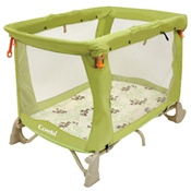 Combi Tatami Play Yard in Jade