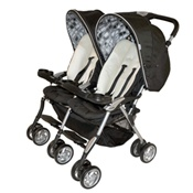 Combi Twin Sport Double Stroller in Sand