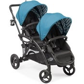 Contours Options 2016 Elite Double Tandem Stroller - Laguna