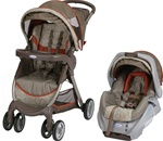 Graco Fast Action Travel System - Forecaster