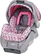 Graco SnugRide 22 Infant Car Seat - Ally
