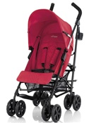 Inglesina Trip Single Lightweight Single Stroller in Fiamma Red