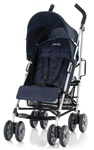 Inglesina Trip Single Lightweight Single Stroller in Marina Navy Blue