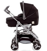 Inglesina 2011 Zippy Bassinet Pram in Ink Black for Zippy Stroller