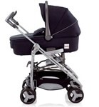Inglesina 2011 Zippy Bassinet Pram in Marina Blue for Zippy Stroller