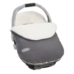 JJ Cole Fleece Infant Bundle Me in Graphite