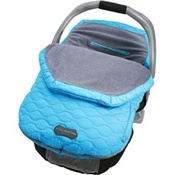 JJ Cole Fleece Infant Bundle Me in Blue Lagoon