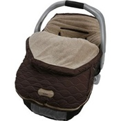 JJ Cole Fleece Infant Bundle Me in Soho Brown