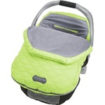 JJ Cole Fleece Infant Bundle Me in Green Frenzy