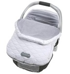 JJ Cole Fleece Infant Bundle Me in Silver Ice