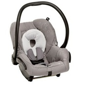 Maxi Cosi Mico Infant Car Seat in Steel Grey
